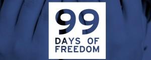 99  يوم من الحرية .. من يقبل التحدي.!